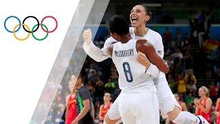 Download USA win women's Basketball gold again Video
