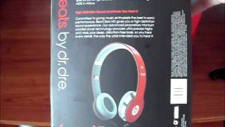 Download Beats by Dr Dre Solo HD RED Unboxing Video