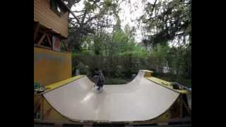 Download building a Mini Ramp with pool coping extension ... Video
