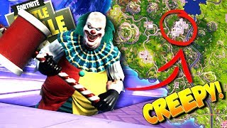 Download CREEPY CLOWN FOUND in Fortnite Sewers: Battle Royale! Video