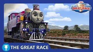 Download The Great Race: Ashima of India | The Great Race Railway Show | Thomas & Friends Video