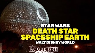 Download Death Star appears at Walt Disney World, transforming Spaceship Earth at Epcot Video