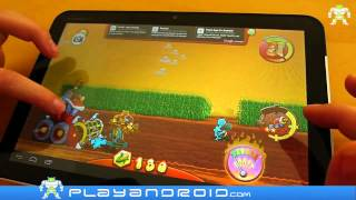 Download Farm Invasion USA Android Game Review by Playandroid Video