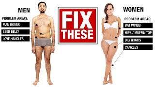 Download How to Lose Fat the Right Way (MEN VS WOMEN!) Video