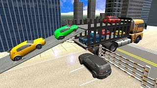 Download Car Transporter Cargo Trucker (by FAZRA Racing and Action Games) Android Gameplay [HD] Video