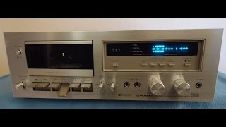 Download Pioneer CT-F650 Cassette Deck Recorder Video