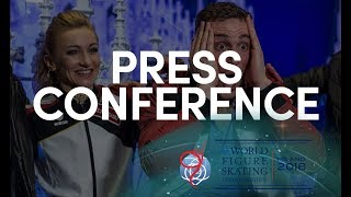 Download Pairs Overall Press Conference - Milano 2018 Video