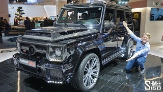 Download The Brabus 900 One of Ten is a €666,000 Hyper-G Class! Video
