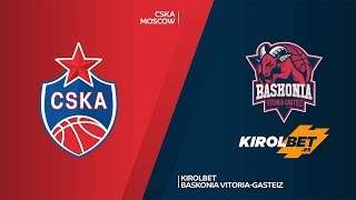 Download CSKA Moscow - KIROLBET Baskonia Vitoria-Gasteiz Highlights |EuroLeague, RS Round 20 Video