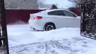 Download Bmw x6 m White Snow Video
