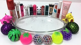 Download MIXING STRESS BALLS AND MAKEUP INTO CLEAR SLIME ! MOST SATISFYING SLIME VIDEOS | TOM SLIME Video