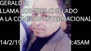 Download GERALDO LLAMA LOS TRES CHIFLADO A LA COMISION. FELIZ SAN VALENTIN 14/2/19 8:45 AM Video