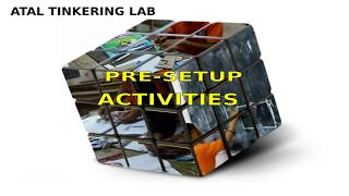 Download Atal Tinkering Lab - Pre setup activity Video
