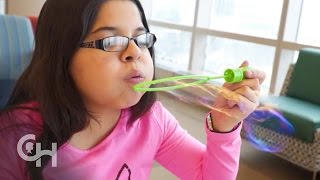 Download Children with Lung Disease at Children's Hospital Video