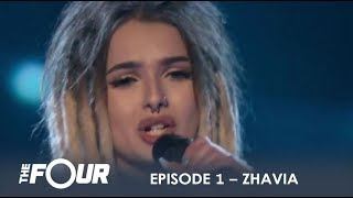 Download Zhavia: She's Only 16 But Wait What Happens When She Opens Her Mouth | S1E1 | The Four Video