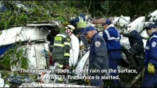 Download LISTEN: Final panicked words of pilot in Colombian plane crash released Video