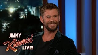 Download Chris Hemsworth on Thor: Ragnarok Video