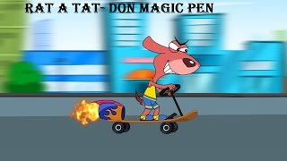 Download Rat-A-Tat | Chotoonz Kids Funny Cartoon Videos | 'Don Magic Pen' Video