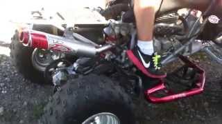 Download 07 Honda trx400 with big gun Evo exhaust Video