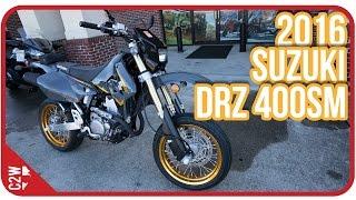 Download 2016 Suzuki DRZ 400 SM | First Ride Video