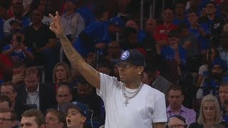 Download Allen Iverson Coaches The Sixers Team While Courtside! Video