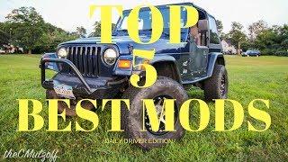 Download Top 5 Favorite Mods - 2003 Jeep TJ Video