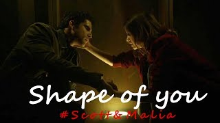 Download shape of you {Scott and Malia} Video
