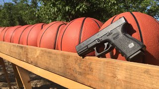 Download how many basketballs does it take to stop a bullet? Video