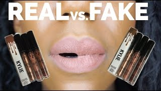 Download $2 KYLIE JENNER LIP KITS! REAL VS FAKE KING K, DOLCE K, TRUE BROWN K Video