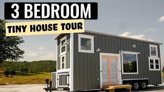 Download Gorgeous Three Bedroom Tiny Home - Craftsman Line by Incredible Tiny Homes Video