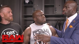 Download Titus O'Neil catches Apollo Crews speaking with ″the enemy″: Exclusive, May 1, 2017 Video