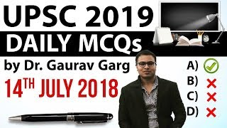 Download UPSC 2019 Preparation - 14th July 2018 Daily Current Affairs for UPSC / IAS 2019 by Dr Gaurav Garg Video