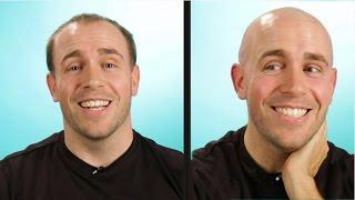 Download Balding Guys Go Completely Bald Video