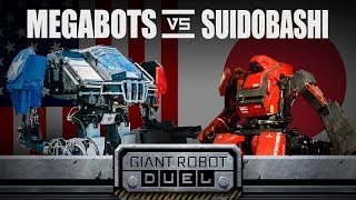 Download THE GIANT ROBOT DUEL Video