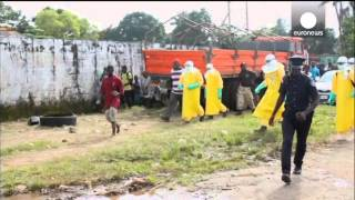 Download Video: Panik als Ebola-Patient aus Quarantäne flieht Video