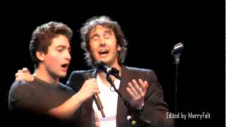 Download A young man in the audience sings with Josh Groban & shocks him! - Josh Page (FORTE on AGT) Video