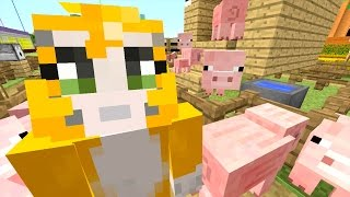 Download Minecraft: Xbox - Building Time - Pigsty Derby! {75} Video