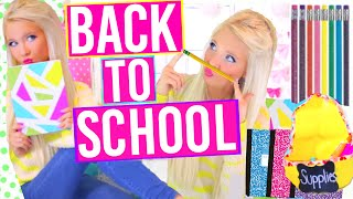 Download DIY School Supplies + Organization Ideas for BACK TO SCHOOL! Easy Projects you need to try! Video