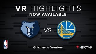 Download NBA in VR - Grizzlies vs Warriors VR Preview | NextVR Video
