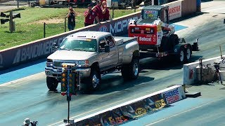Download 10,000-Pound 1/8-Mile Trailer Tow - Diesel Power Challenge 2017 Video