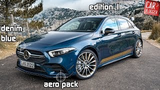 Download INSIDE the NEW 2019 Mercedes-AMG A35 Edition 1   0-200 km/h   Interior Exterior DETAILS w/ REVS Video