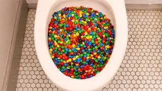 Download Will 40,000 M&Ms Flush? Video