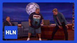 Download No joke! Comic tells Conan his weight loss secret Video