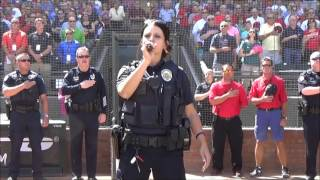 Download Surprise Police Officer Tanya Keplinger Sings the National Anthem Video
