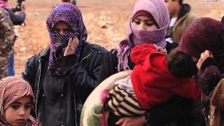 Download Syrian Refugees: Crossing The Border To Jordan Video