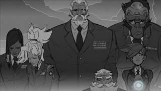 Download OVERWATCH comic: Funeral Video