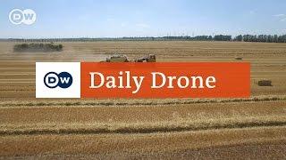 Download #DailyDrone: Straw harvest Video