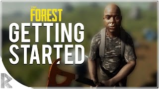 Download GETTING STARTED - The Forest Multiplayer w/ Vuxxy Part 1 (The Forest Multiplayer Gameplay) Video