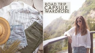 Download Travel Capsule Wardrobe For A Road Trip Through Santa Cruz & Big Sur, CA | Alli Cherry Video
