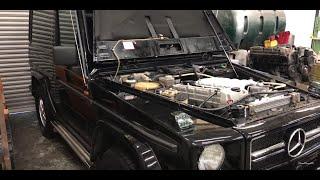 Mercedes Benz G wagen Nissan BD30 Turbo engine start Free Download